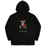 [언더에어] UNDERAIR Frog Star Hoodie - Black 후디 후드티셔츠