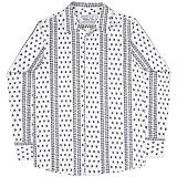 [언더에어] UNDERAIR Hiraeth Shirts - Navy 긴팔남방 긴팔셔츠