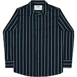 [언더에어] UNDERAIR Elderine Shirts - Navy 긴팔남방 긴팔셔츠