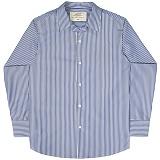 [언더에어] UNDERAIR Bryony Shirts - Navy 긴팔남방 긴팔셔츠
