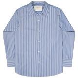 [언더에어] UNDERAIR Bryony Shirts - Blue 긴팔남방 긴팔셔츠