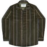 [언더에어] UNDERAIR Dancing Copse Shirts - Khaki 긴팔남방 긴팔셔츠