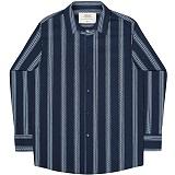 [언더에어] UNDERAIR Tully Shirts - Navy 긴팔남방 긴팔셔츠