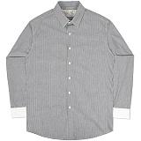 [언더에어] UNDERAIR Petrichor Shirts - Black 긴팔남방 긴팔셔츠