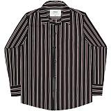 [언더에어] UNDERAIR Necrotic Freak Shirts - Black 긴팔남방 긴팔셔츠