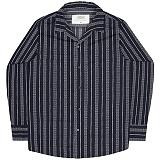 [언더에어] UNDERAIR Chivalry Shirts - Navy 긴팔남방 긴팔셔츠