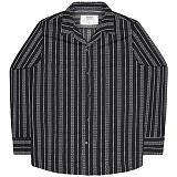 [언더에어] UNDERAIR Chivalry Shirts - Black 긴팔남방 긴팔셔츠