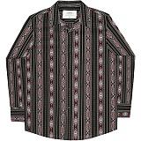 [언더에어] UNDERAIR Zahara Orchid Shirts - Black 긴팔남방 긴팔셔츠