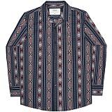 [언더에어] UNDERAIR Zahara Orchid Shirts - Navy 긴팔남방 긴팔셔츠