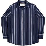 [언더에어] UNDERAIR Ineffable Shirts - Navy 긴팔남방 긴팔셔츠