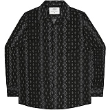 [언더에어] UNDERAIR Deadly Whispers Shirts - Black 긴팔남방 긴팔셔츠