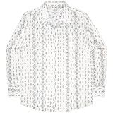 [언더에어] UNDERAIR Deadly Whispers Shirts - White 긴팔남방 긴팔셔츠