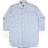[언더에어] UNDERAIR The Saint Shirts - Blue 긴팔남방 긴팔셔츠