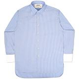 [언더에어] UNDERAIR Latale Shirts - Sky Blue 긴팔남방 긴팔셔츠