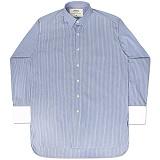 [언더에어] UNDERAIR Butterfly Kisses Shirts - Sky Blue 긴팔남방 긴팔셔츠