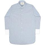 [언더에어] UNDERAIR Angelic Scars Shirts - Sky Blue 긴팔남방 긴팔셔츠