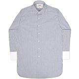 [언더에어] UNDERAIR Angelic Scars Shirts - Navy 긴팔남방 긴팔셔츠