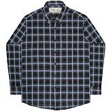 [언더에어] UNDERAIR Velvet Rain Shirts - Black 긴팔남방 긴팔셔츠