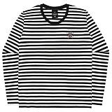 [언더에어] UNDERAIR Mini Trap Stripe T-shirt - White 긴팔티 스트라이프티