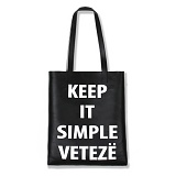 VETEZE - Kis Leather Bag(BK) 가죽 에코백