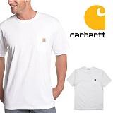 [칼하트]CARHARTT - [당일출고]칼하트 K87 포켓반팔티 화이트_정품 국내배송