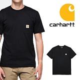 [칼하트]CARHARTT - [당일출고]칼하트 K87 포켓반팔티 블랙_정품 국내배송