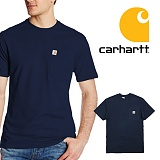 [칼하트]CARHARTT - [당일출고]칼하트 K87 포켓반팔티 네이비_정품 국내배송