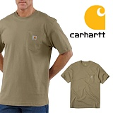 [칼하트]CARHARTT - [당일출고]칼하트 K87 포켓반팔티 데져트_정품