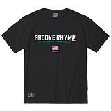 [그루브라임]Grooverhyme -2017 GROOVE SPORT T-SHIRT (BLACK) [GT003F23BK] 티셔츠 반팔티