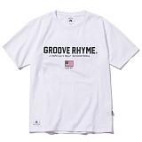 [그루브라임]Grooverhyme -2017 GROOVE SPORT T-SHIRT (WHITE) [GT003F23WH] 티셔츠 반팔티