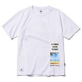 [그루브라임]Grooverhyme -2017 BOX LETTERING T-SHIRT (WHITE) [GT011F23WH] 티셔츠 반팔티