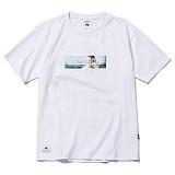 [그루브라임]Grooverhyme -2017 SURFING GIRL DTP T-SHIRT  (WHITE) [GT043F23WH] 티셔츠 반팔티