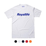 [로얄라이프] ROYALLIFE - RL001 로얄라이프 메인로고 반팔 - 5color