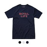 [로얄라이프] ROYALLIFE - RL002 로얄라이프 서브로고 반팔 - 3color