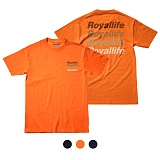 [로얄라이프] ROYALLIFE - RL003 로얄라이프 멀티로고 반팔 - 3color