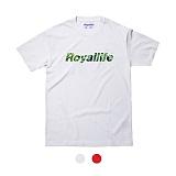 [로얄라이프] ROYALLIFE - RL011 위드 로고 반팔 - 2color