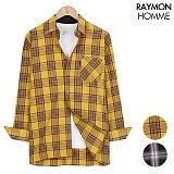 레이먼옴므 - 피오갓체크 셔츠 RH2258MT