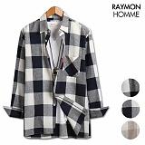 레이먼옴므 - 루즈핏 2번체크 셔츠 RH2075MT