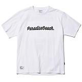 [파라다이스비치]PARADISE BEACH 2017 PARADISE LOGO T-SHIRT (WHITE) [PT010F23WH] 반팔티