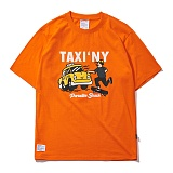 [파라다이스비치]PARADISE BEACH 2017 TEXY NY T-SHIRT (ORANGE) [PT019F23OR] 반팔티