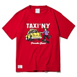 [파라다이스비치]PARADISE BEACH 2017 TEXY NY T-SHIRT (RED) [PT019F23RE] 반팔티