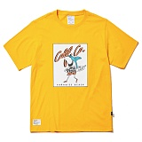 [파라다이스비치]PARADISE BEACH 2017 SHARK SURF T-SHIRT (YELLOW) [PT020F23YE] 반팔티