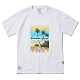 [파라다이스비치]PARADISE BEACH 2017 OCEAN SIDE T-SHIRT (WHITE) [PT024F23WH] 반팔티