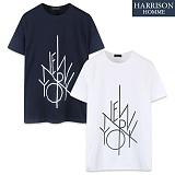 [해리슨] HARRSION 뉴욕나염 반팔 티셔츠 CS1187