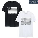 [해리슨] HARRSION 성조기 반팔 티셔츠 CS1189