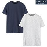 [해리슨] HARRSION 슬라브 반팔 티셔츠 CS1186