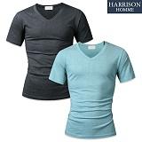 [해리슨] HARRSION 반팔 브이넥 티셔츠 MD1124
