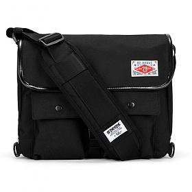 [핍스] PEEPS retro messenger bag(black)_메신저백_크로스백