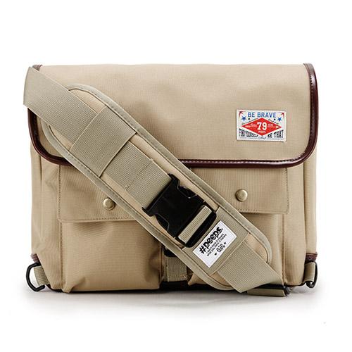 [핍스] PEEPS retro messenger bag(beige)_메신저백_크로스백