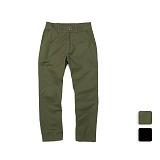 [언리미트]Unlimit - Twill Pants (U17ABPT11) 무릎절개 면바지 긴바지